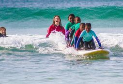 Surfing with Kids 6